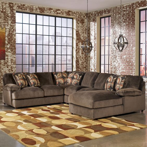 This Looks Comfy Truscotti Cafe 4 Piece Sectional By