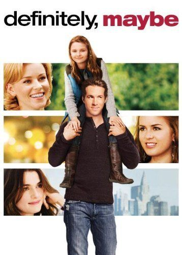 DEFINITELY, MAYBE: Ryan Reynolds explains the story of how he met his wife to Abigail Breslin - and unlike that TV show, it doesn't take twelve seasons to get to the end! Very cute and funny movie.