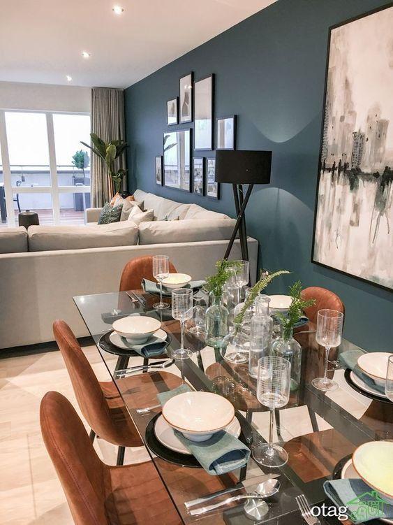 اجرای بازسازی خانه با تأکیدی بر طرح باز Living Room Dining Room Combo Living Room Decor Apartment Open Dining Room