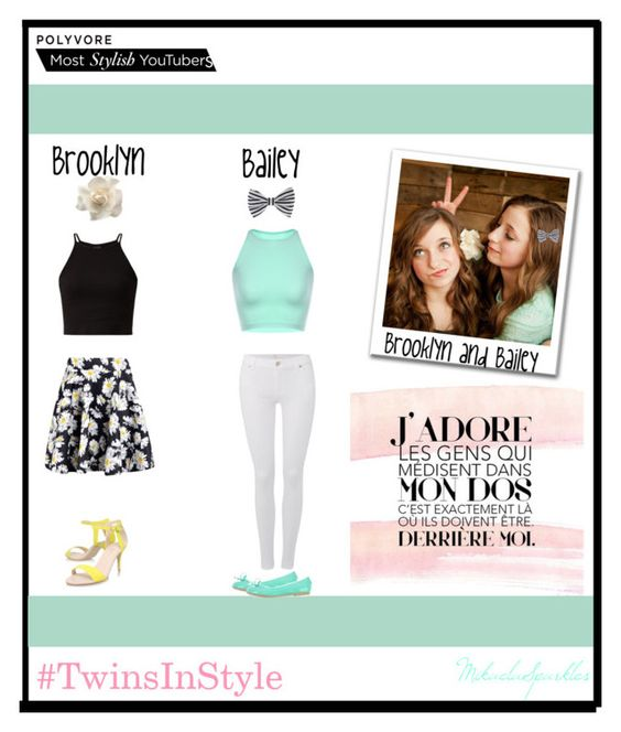 """""""Brooklyn And Bailey!"""" by mikaelasparkles ❤ liked on Polyvore featuring Polaroid, 7 For All Mankind, Clips, Boohoo, Carvela Kurt Geiger, O6 Milano, Accessorize, women's clothing, women's fashion and women"""