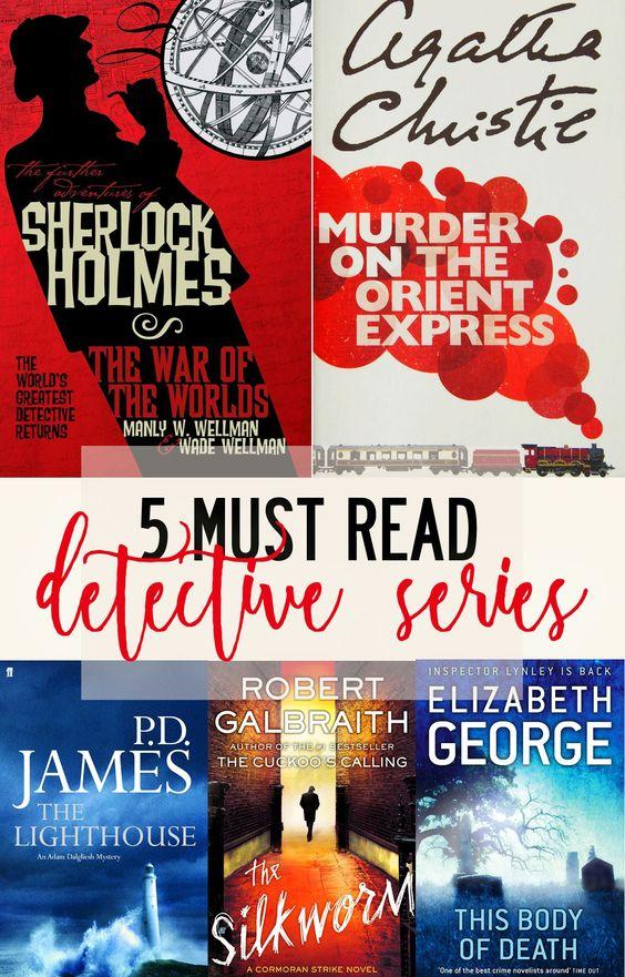 5 must-read detective series - Sherlock Holmes, Cormoran Strike, Hercule Poirot, Inspector Lynley and Adam Dalgliesh