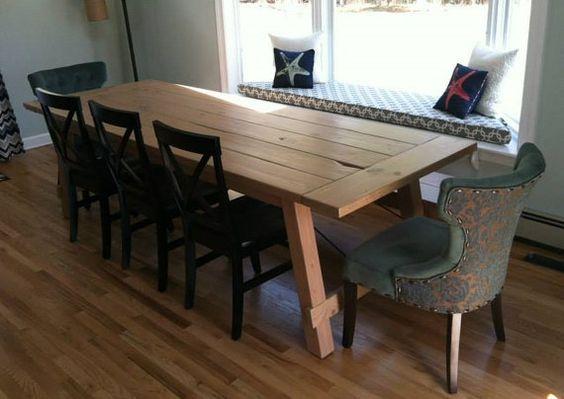 Wicomico Turnbuckle Dining Table Farmhouse Reclaimed Wood