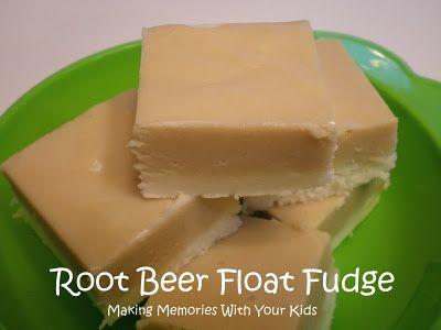Rootbeer Float Fudge.....