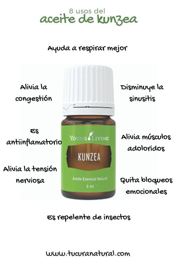 usos del aceite esencial de kunzea