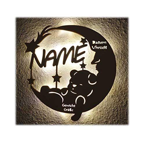Schlummerlicht24 Led Lampe Personalisiert Babygeschenk Sweet Dream Taufgeschenke Geschenke Zur Geburt Madchen Baby Geschenk Personalisiert Geschenke Mit Namen