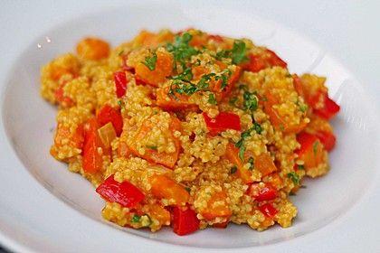 Kürbis-Paprika-Couscous
