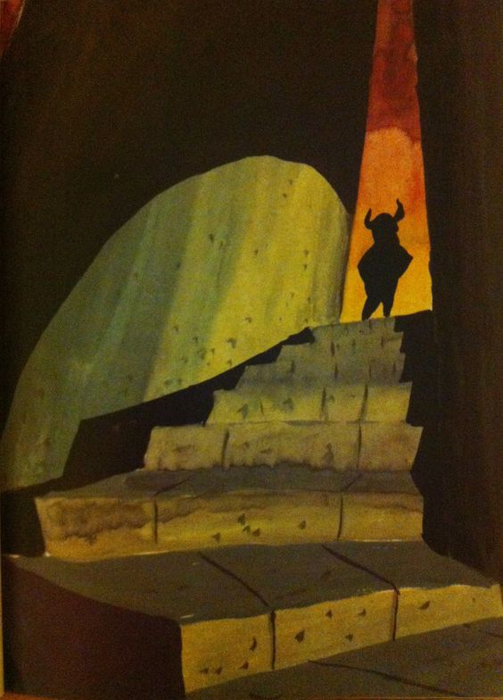 classicanimationart:  Concept painting. What's Opera Doc? (WB, 1957).
