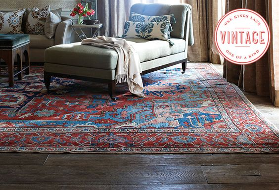 Color Theory: Vintage Rugs in Every Hue
