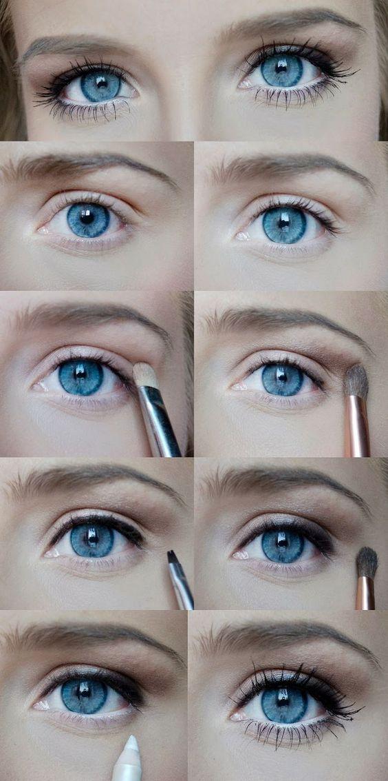 Maquillaje para tener ojos más grandes   http://fotos.soymoda.net/maquillaje-para-tener-ojos-mas-grandes/