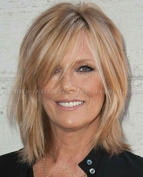 Decent Haircuts For Fine Hair Over 40 Medium Hair Styles Bangs