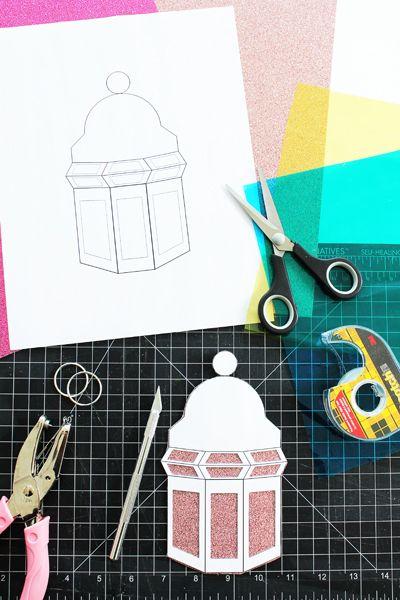 Ramadan Ideas Lantern Streamers Download Free Clip Art