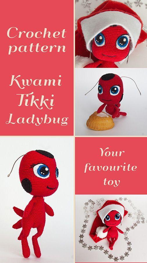 Marly the Ladybug - Crochet Pattern | 900x506