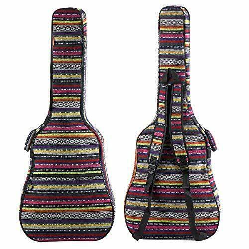Zhruns Guitar Bag Bohemian Acoustic Guitar Case Soft Foam Colorful Pattern Ebay Acoustic Guitar Case Guitar Bag Guitar Case