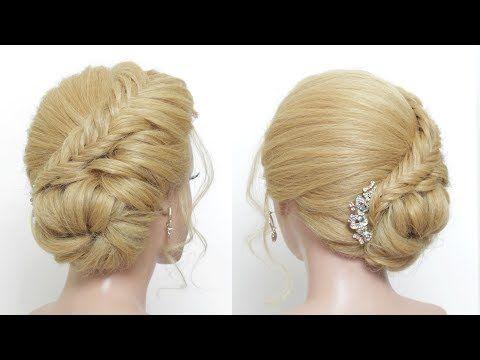 Easy Prom Updo For Long Hair Tutorial Youtube Short Hair Styles Easy Short Hair Updo Simple Prom Hair