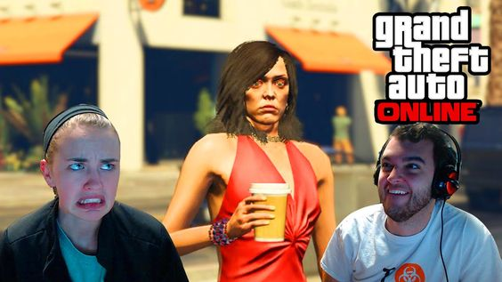 GTA 5 - Girlfriend Plays GTA (Funny Moments - GTA 5 Online)