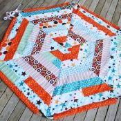 Drawstring playmat