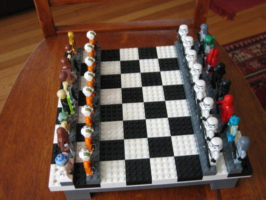 LEGO Star Wars jeu d'échecs par poptaba sur Etsy                              …