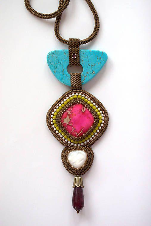 Spring Energy / zzuzzi - SAShE.sk - Handmade Náhrdelníky