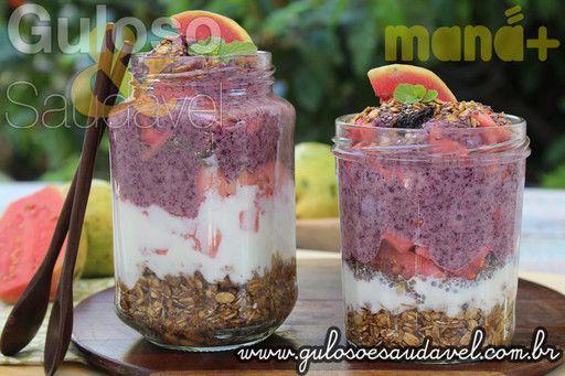 Receitas com Frutas em Parceria com a Maná » Artigos » Guloso e Saudável