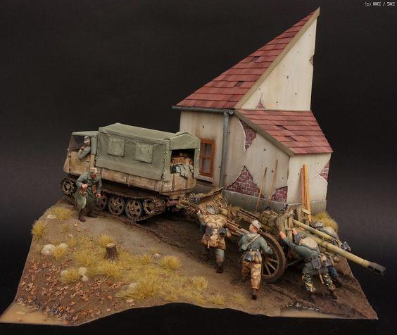 German RSO/3 & LeFH18M