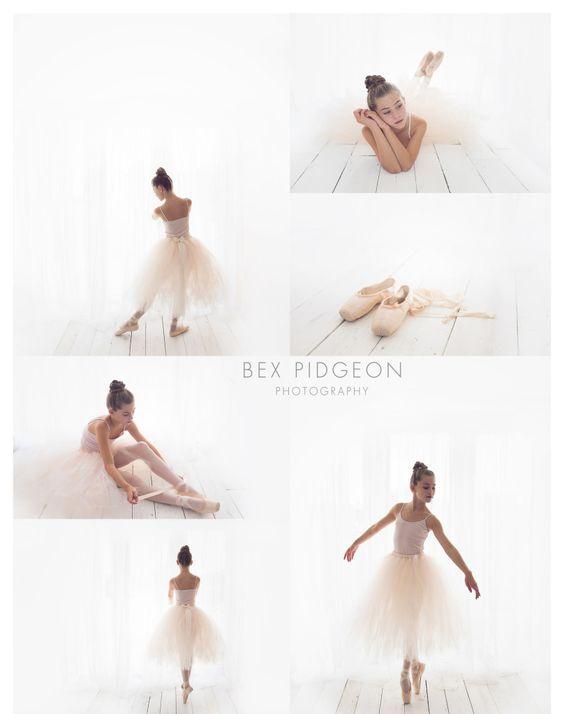 Ballerina posed photo shoot in studio www.bexpidgeon.co.uk