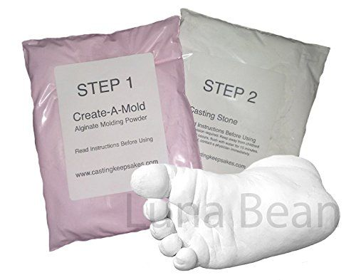 Refill Powders For Luna Bean Infant Hand Or Foot 3d Life Casting Mold Kit You Can Get Additional Details At The Image Link Th Casting Kit Mold Kit It Cast