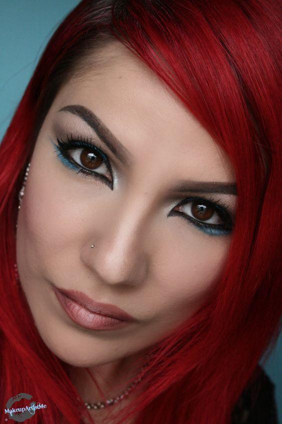 Make-up Artist Me!--Blu Delight makeup look and tutorial
