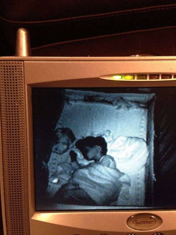 13 times that baby monitors captured something unnecessarily creepy things to baby monitor. Black Bedroom Furniture Sets. Home Design Ideas