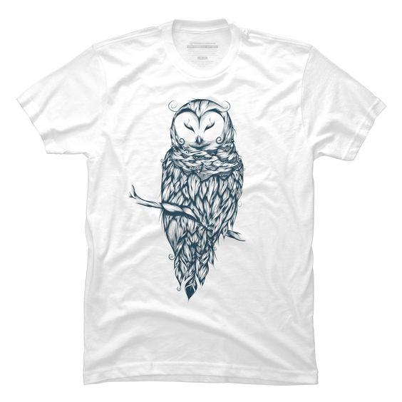 Snow Owl Men's T-Shirt