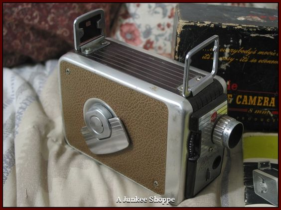 KODAK 1955 Brownie 8mm Model 82 Movie Camera In Original Box With Pamplet  IMG 3694 http://ajunkeeshoppe.blogspot.com/