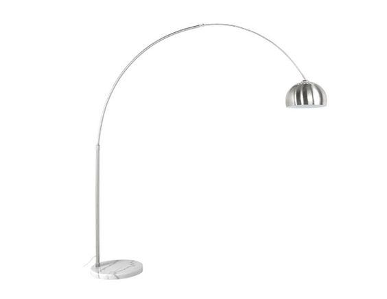 x tavolo sala, 280 euro  Visualizza i dettagli per LAMPADA DA TERRA BIGHO METALLO SPAZZOLATO