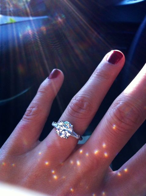 Show me your 2 carat diamond rings wedding 215 carat center stone halo en