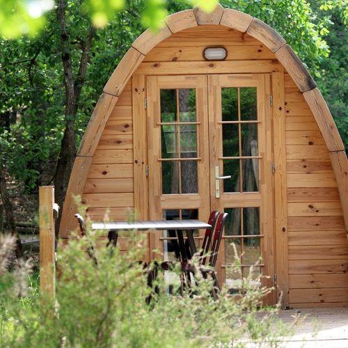 POD cabane jardin, chalet insolite | บ้านเล็กมีสุข en 2019 ...