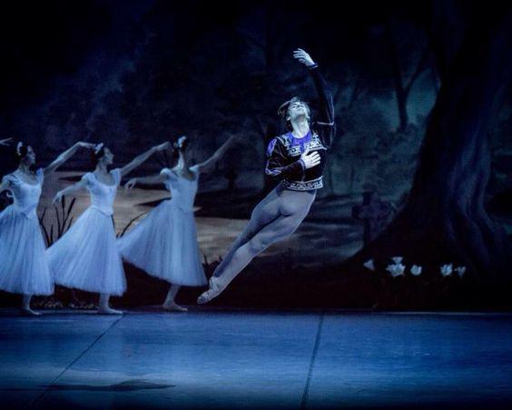 """Friedmann Vogel in """"Giselle"""", Mikhailovsky Theatre"""