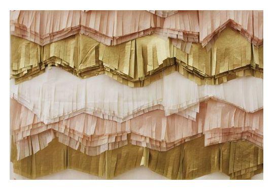 fringe!: Paper Backdrop, Tissue Fringe, Paper Fringe, Tissue Paper, Color Palette, Backdrop Idea
