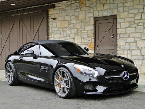 Gentlemans Merc: Mercedes AMG GTS (Wallpaper)