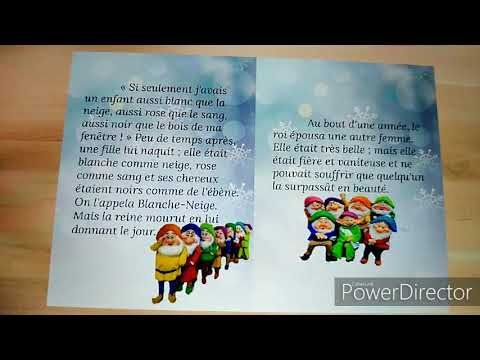 Blanche Neige Et Les Sept Neins بياض الثلج قصص اطفال مشخصة بصورهم Youtube Book Cover Make It Yourself Blog