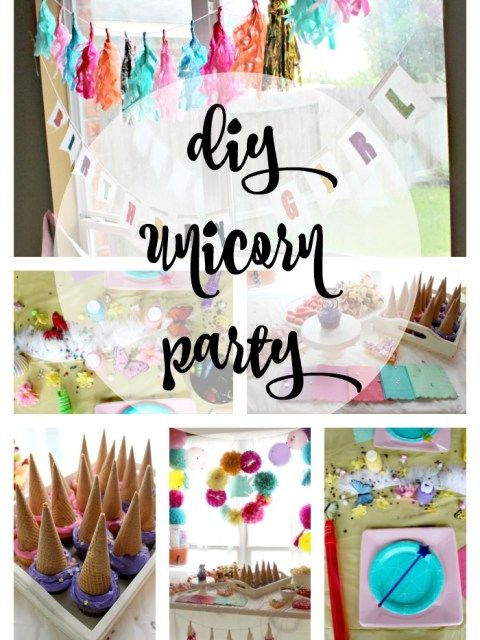 Unicorn party, Unicorns and Parties on Pinterest