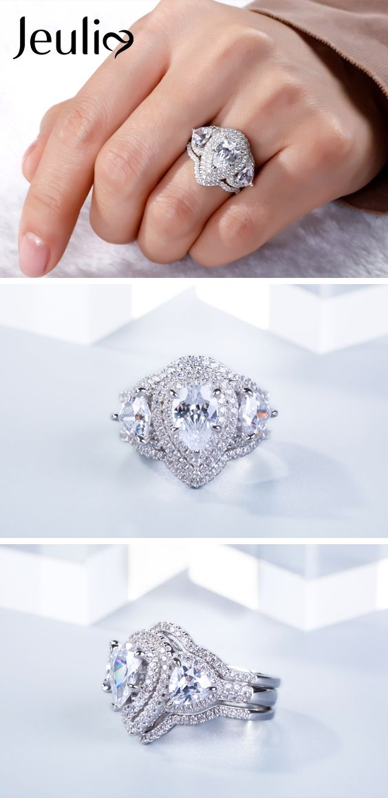 1015 best Stunning Wedding Ring images on Pinterest