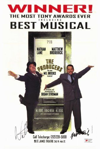 Producers, The (Broadway) 27 x 40 Movie Poster - UK Style...