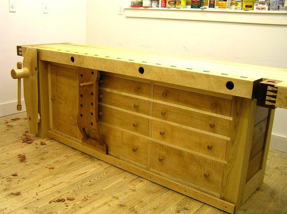 Shaker style workbench by davidb