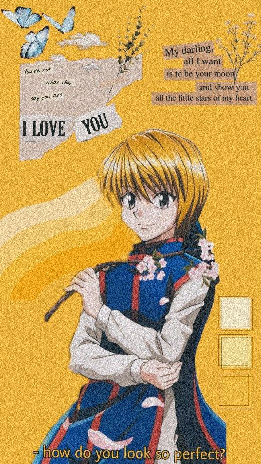 Kurapika Wallpaper Anime Backgrounds Wallpapers Hunter Anime Cute Anime Wallpaper Wallpaper iphone aesthetic kurapika