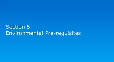 Intel® vPro Technology : Environmental Pre-requisites
