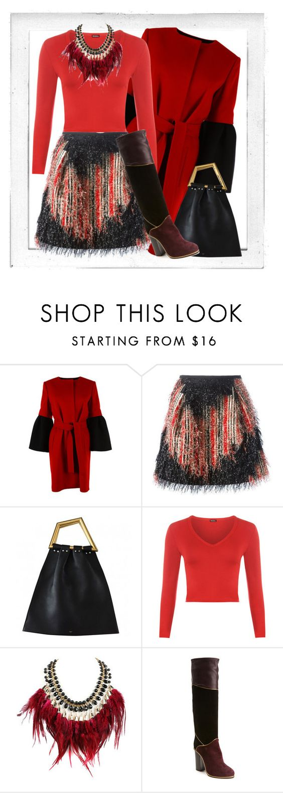 """Bez naslova #139"" by suncokret-12 ❤ liked on Polyvore featuring Polaroid, Albino, Fendi, WearAll, WithChic and Lanvin"