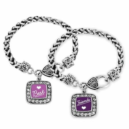 "One of my favorite Charm bracelets ""Best Friends Classic Charm Bracelet Set""  #jewelry #charmbracelet #inspiredsilver"