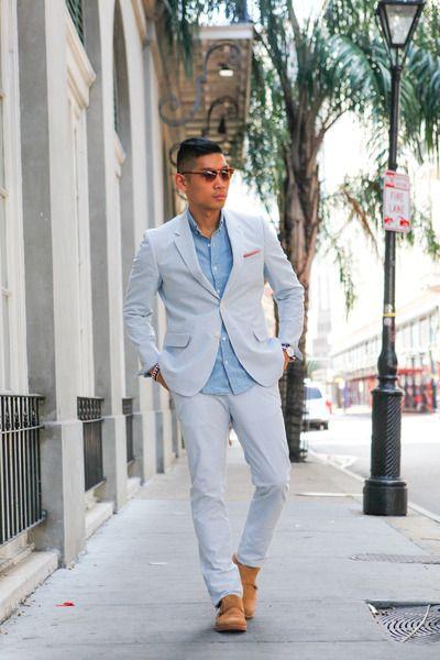 Brown-nordstrom-shoes-light-blue-seersucker-haspel-jacket