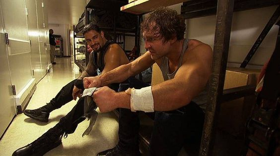 https://flic.kr/p/qCNZqZ | Roman Reigns and Dean Ambrose