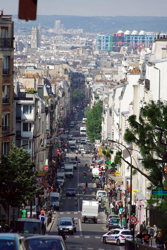 Rue de Ménilmontant — Wikipédia
