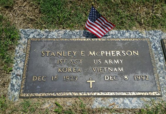 Stanley E. McPherson the husband of my aunt Christine.