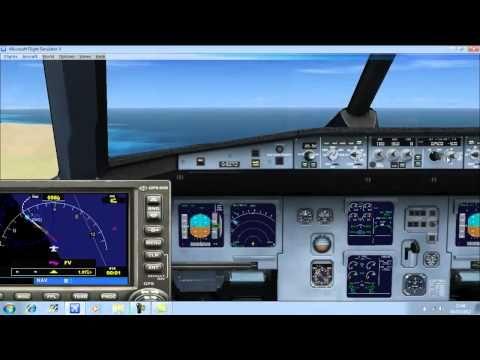 Fsx Tutorial Ils Instrument Landing System Auto Land 720p Hd Youtube Instrument Landing System Fighter Jets Flight Simulator